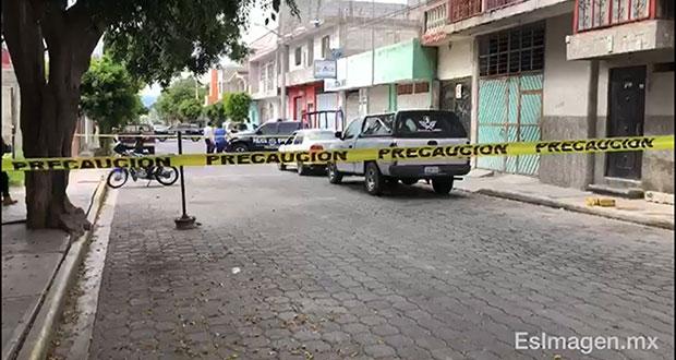 En Tehuacán, hallan cuerpo con golpe en la cabeza; irían 123 este año