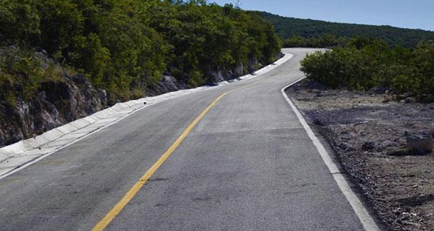 Inauguran pavimentación de camino a comunidad de Tepexi