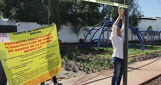 Por no informar a vecinos, clausuran simbólicamente obra en colonia México 83