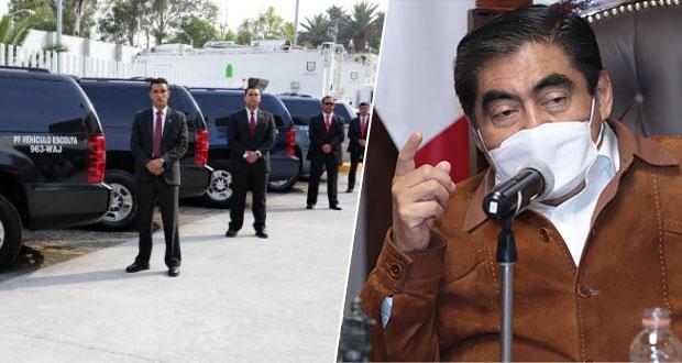 """Que exgobernadores paguen por sus escoltas; """"es opulencia"""": Barbosa"""