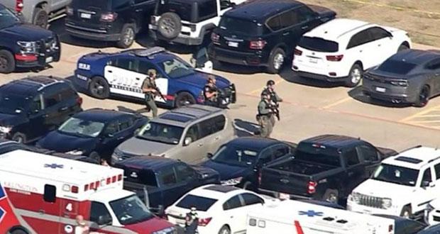 Reportan tiroteo en secundaria en Texas; hay cuatro heridos