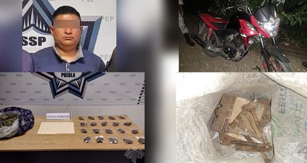 SSP y GN detienen a narcomenudistas y ladrones de vías ferroviarias