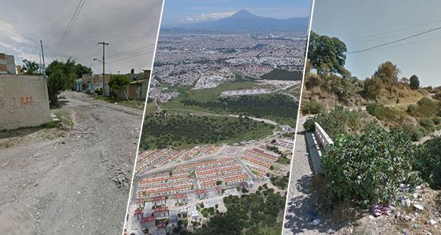 La Calera, Resurrección y Xonacatepec, con problemas ambientales y de movilidad