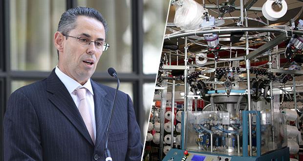 Textileras en Puebla prevén hasta 2023 recuperación económica al 100%