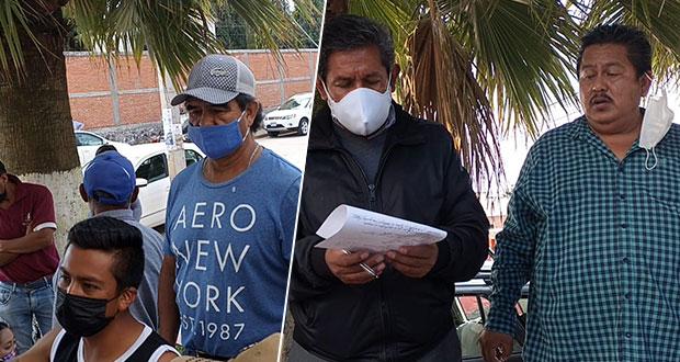 Trabajadores de Sosapac se van a paro técnico; exigen pago de liquidación