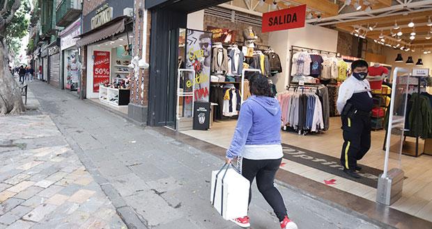 Tras más de año y medio, este jueves, reapertura comercial total en Puebla