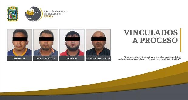 Detienen a cuatro sujetos por extorsionar a víctima de secuestro