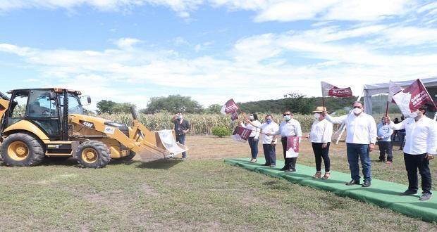 Inician SEP y Capcee construcción de bachillerato en Izúcar